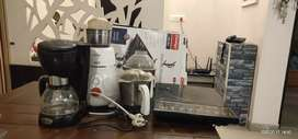 induction, mixer, coffee. machine and lunch box free