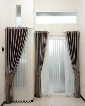 Gorden Vitrase Curtain Blinds Gordyn Korden Decor Interior.1483738rj