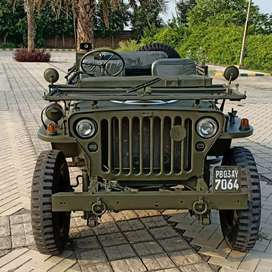 Open Modified Classic Army Style Willy Jeep on Order Ready