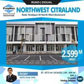Dijual Ruko North West Boulevard dkt palma nwp