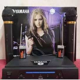 mic wireless yamaha dobel