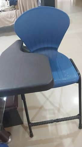Office table and student chairs