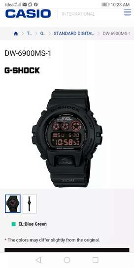 Not used Casio G-shock watch( original)