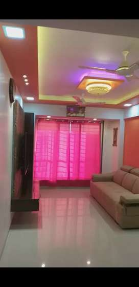 1 BHK fully furnished flat with modular kitchen.