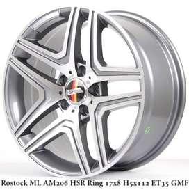 ROSTOCK ML AM206 HSR R17X8 H5X112 ET35 GMF