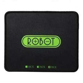 MousePad Robot MP01 Black - Robot Mouse Pad Hitam