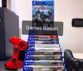 RENT latest PS4 GAMES @ 299