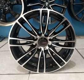 Jual velg murah ring 14x6.0 h8x100/114.3 et35 bisa untuk Avanza Brio