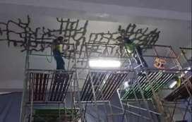 Kontraktor Perkuatan struktur beton, carbon fiber wrap FRP,  grouting