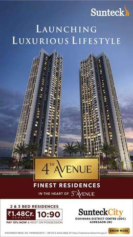 Launching Luxurious Lifestyle at 4th Avenue, Goregaon West