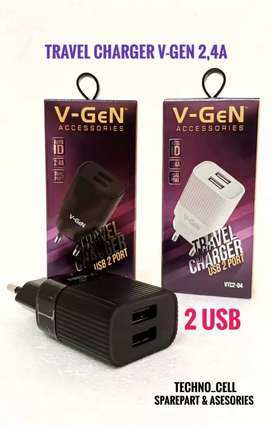 Kepala adaptor/kepala charger V-GEN