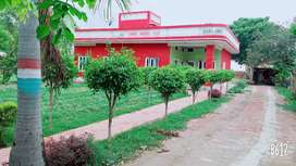 Farm house near Jind Panipat highway Well maintained park and greenery