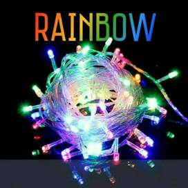 Grosir Lampu tumblr Rainbow Medan