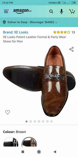 New shoes With Amezon bill Rs. 997/-