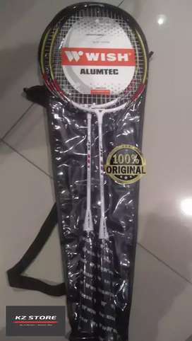 Raket Badminton Anak Wish Junior W/Cover + String Jr 361