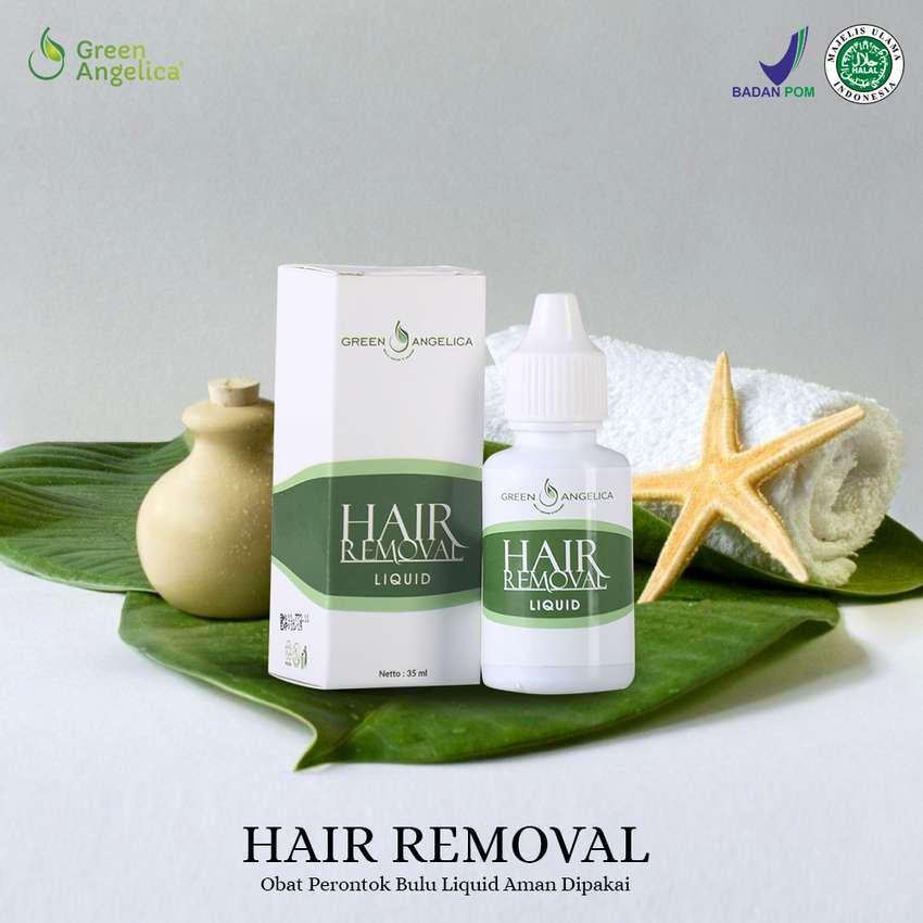 OBAT PENGHILANG BULU Tercepat Hair Removal Perontok Bulu Ampuh BPOM 0
