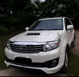 Toyota Fortuner 2015 Top model Special Edition in showroom condition