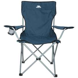 Trespass Settle Camping Chair with Cup Holder & Carry Bag
