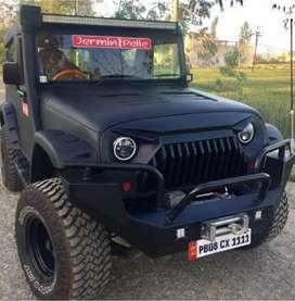 Mahindra Thar and open Jeep and Gypsy