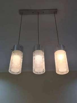 Dijual lampu hias gantung isi 3 bj normal semua