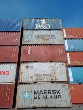 Jual Container Kontainer Polos 20 & 40ft Ready Stock