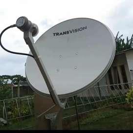 Pasang murah Transvision HD resmi Gresik spesial setahun Free ALL CHL