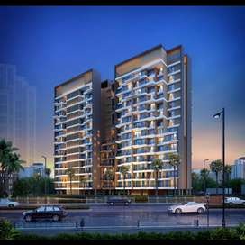 75 Lac all including Luxurious 2BHK Flat IN Kalyan west