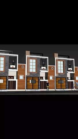 90Gaj House sale banjarawala rajeshwari colony