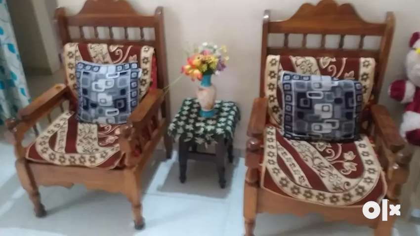 Wooden sofa set 2*2 0