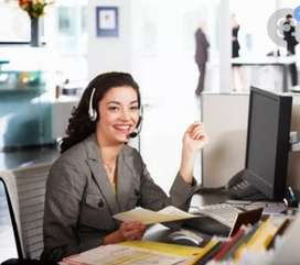 Female candidates work from home
