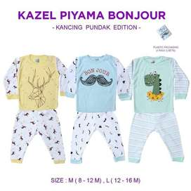 Kazel Piyama Boy Kancing Pundak Bonjour Edition