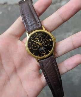Jam tangan alba moonphase vintage jadul rare chrono seiko