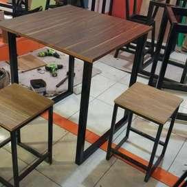 PROMO! ! Meja dan kursi furniture usaha dan rumah tangga