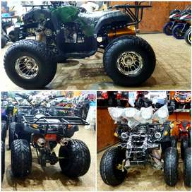 Alloy wheel 150cc 4 gear with silver head 0 meter Quad ATV BIKE 4 sell