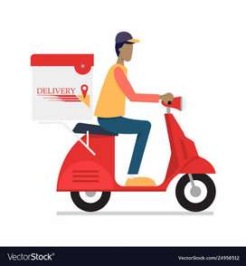 Delivery boy required urgently for paradip