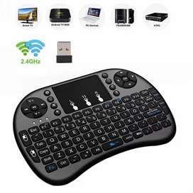 Wireless Keyboard with Touch Pad Mouse Home Delivery Available