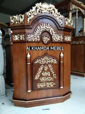 Ready Mimbar Musholla Kerajinan Jepara @1052