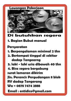 Operator Bubut manual