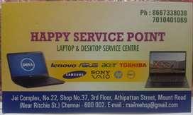 Happy service point
