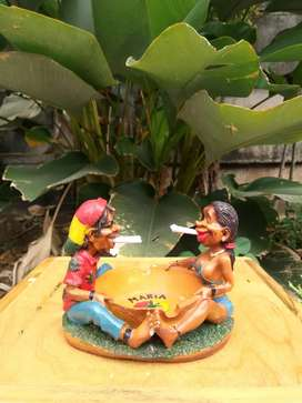 Asbak Rastafarian / Asbak Reggae Couple