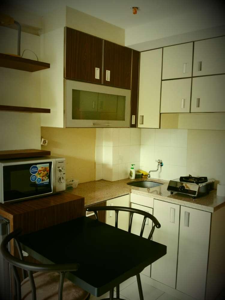 apartemen di kebagusan city dengan view lepas lantai 2