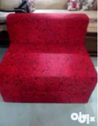 Sofa Cum Bed  Condition -Brand New  THIS IS FOLDING SOFA BED WITH 5 YE