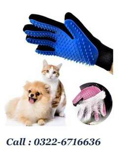 Hair Removing Glove for Cats and Dogs