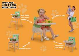 High Chair Baby Does Easy 4in1 Booster Chair BabyDoes Kursi Makan Bayi