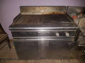 hotplate with grill large size