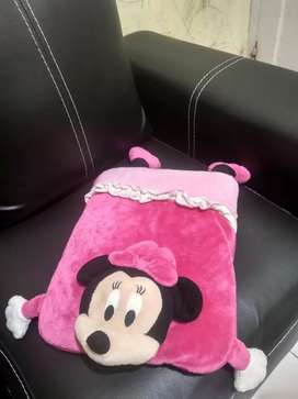 Balmut ( Bantal Selimut ) Minnie Mousbe