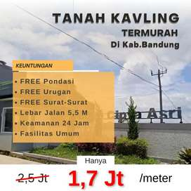 Kapan lagi ada tanah murah di Bandung buat bangunan serbaguna