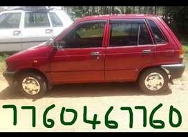 Maruti Suzuki 800, 1998Model,Petrol,Good Condition.