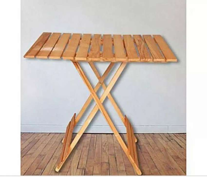 Wooden Folding  table 0