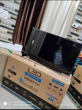 45 inch frameless Smart 4K Ultra HD LED TV // Slim design _Voice cntrl